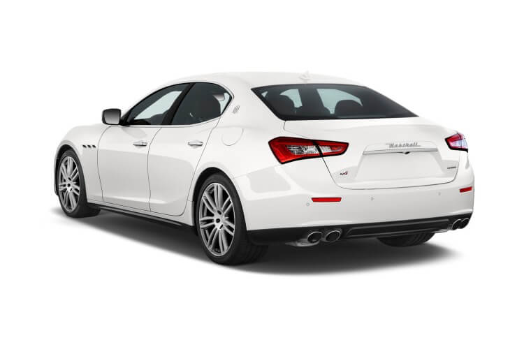 Maserati Ghibli Saloon 2.0 MHEV 330PS GranSport 4Dr ZF [Start Stop] [Nerissimo] back view