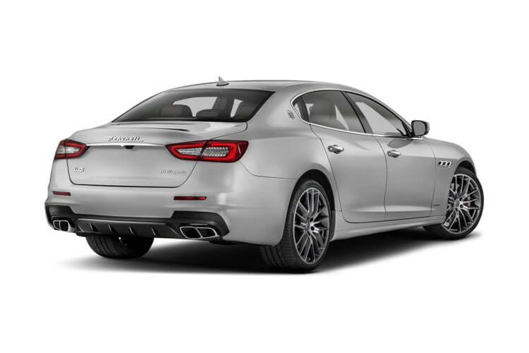 Maserati Quattroporte Saloon 3.0 V6 430PS S GranLusso 4Dr ZF [Start Stop] back view