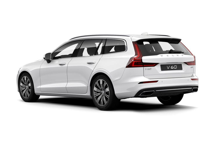Volvo V60 Estate 2.0 D3 150PS R DESIGN Plus 5Dr Manual [Start Stop] back view