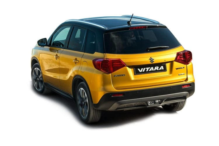 Suzuki Vitara SUV 1.4 Boosterjet MHEV 129PS SZ4 5Dr Manual [Start Stop] back view