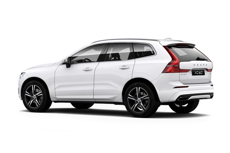 Volvo XC60 SUV AWD 2.0 B5 MHEV 250PS Momentum 5Dr Auto [Start Stop] back view