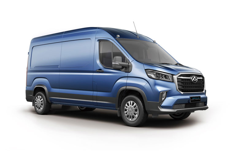 MAXUS DELIVER 9 L3 FWD 2.0 D20 FWD 163PS LUX Van High Roof Manual [Start Stop] front view