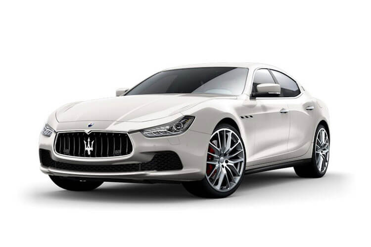 Maserati Ghibli Saloon 2.0 MHEV 330PS GranSport 4Dr ZF [Start Stop] [Nerissimo Carbon] front view