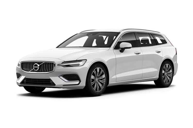 Volvo V60 Estate 2.0 D3 150PS R DESIGN Plus 5Dr Manual [Start Stop] front view
