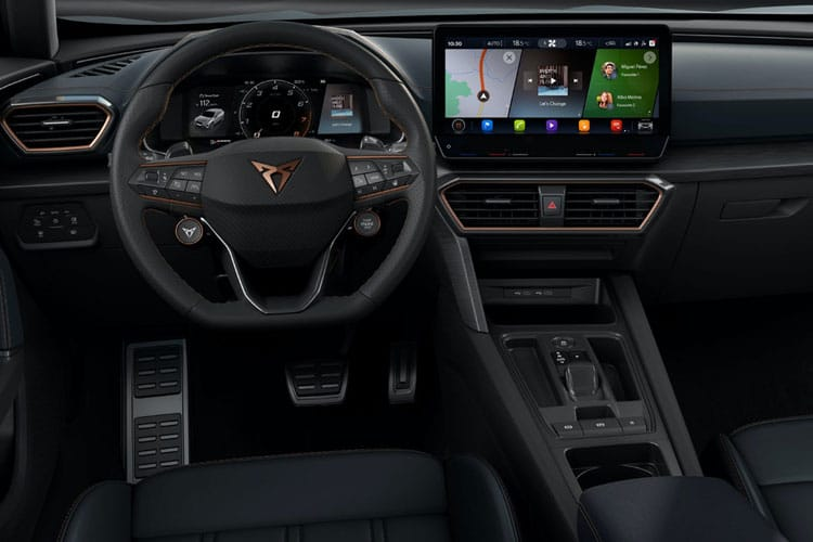 CUPRA Formentor SUV 1.5 TSI 150PS V1 5Dr Manual [Start Stop] inside view