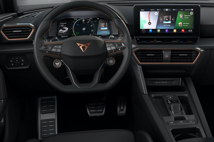 CUPRA Leon Hatch 5Dr 1.4 eHybrid PHEV 12.8kWh 245PS VZ2 5Dr DSG [Start Stop] inside view